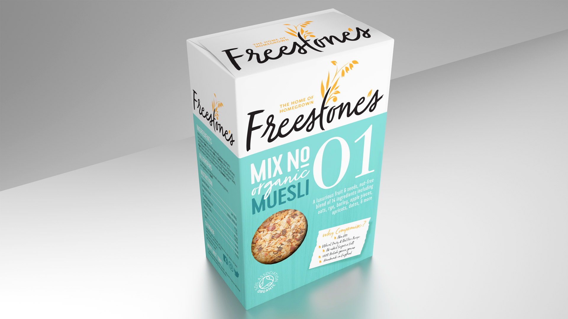 Freestones Mix No 1 Classic Muesli - The home of homegrown