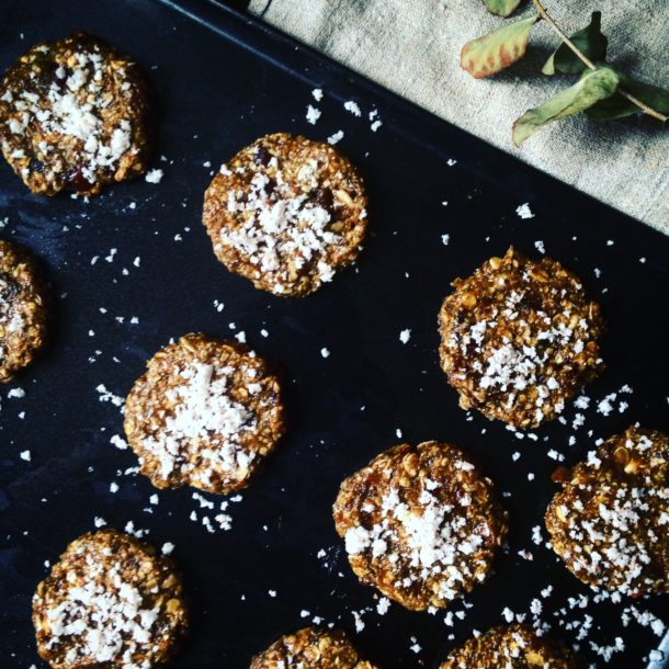 No.3 Banana, Cardamon and Coconut Breakfast Cookies