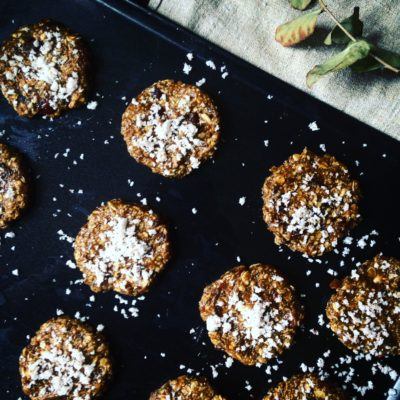 No.3 Banana, Cardamon and Coconut Breakfast Cookies